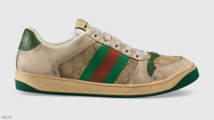 """""""غوتشي"""" تطرح """"الحذاء القذر"""" بسعر يصدم المتسوقين"""