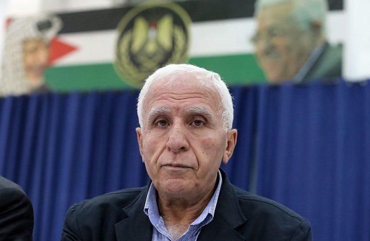 الأحمد: لن نجلس مع أي طرف لا يعترف بمنظمة التحرير