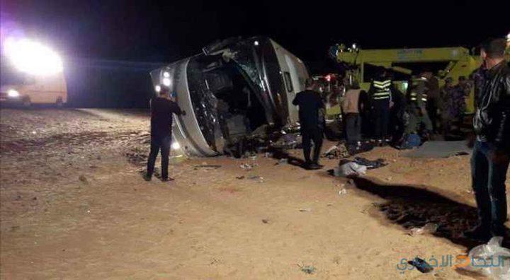 وفاة معتمر وإصابة 3 آخرين بحادث سير قرب المدينة المنورة