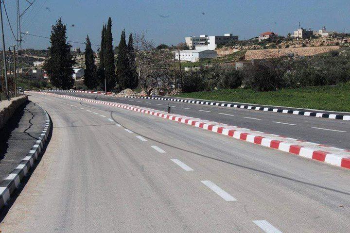 الانتهاء من مشروع تأهيل الشارع الرئيسي في بيت اولا