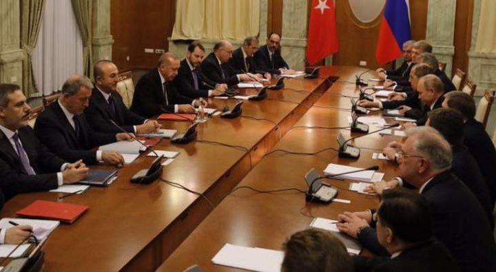 اردوغان: نرغب في التنسيق مع روسيا بشأن المنطقة الآمنة