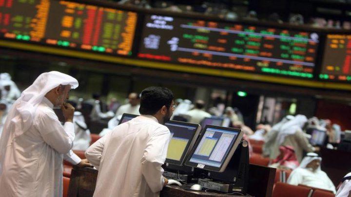 تباين أداء البورصات العربية في نهاية جلسات الأسبوع