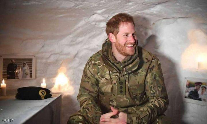 الأمير هاري يحتفل بعيد الحب في القطب الشمالي
