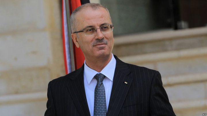 الحمد الله:سيتم افتتاح القسم الثاني لعلاج سرطان الأطفال بغزة