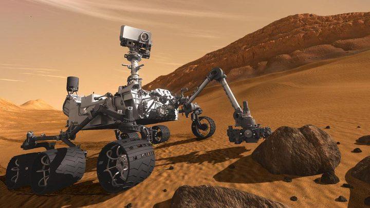 """عاصفة رملية تنهي مهمة """"مركبة المريخ"""""""