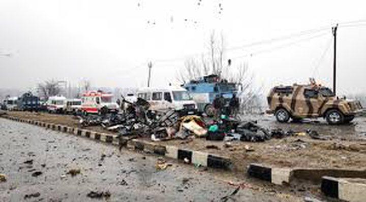 الخارجية تدين الهجوم الإرهابي على قافلة للشرطة الهندية