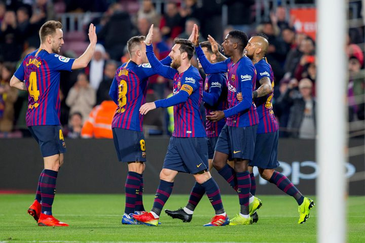 برشلونة يُفلت بفوز صعب من أنياب بلد الوليد