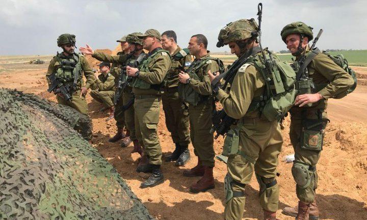 الاحتلال يستنفر قواته على حدود شمال القطاع