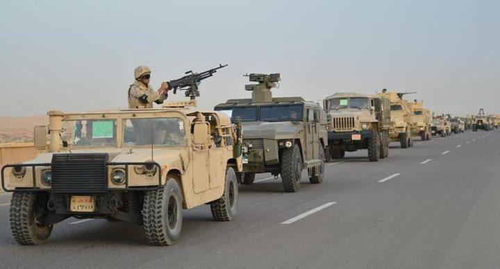 القضاء على 7 تكفيريين بشمال سيناء