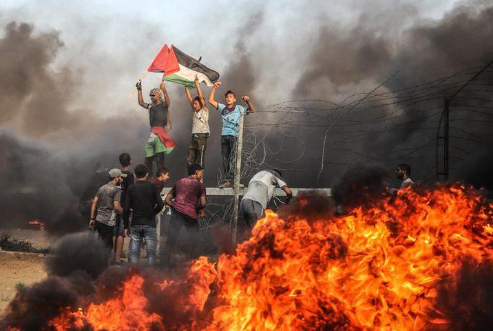 انطلاق فعاليات الإرباك الليلي  لمشاغلة الاحتلال شرق خان يونس