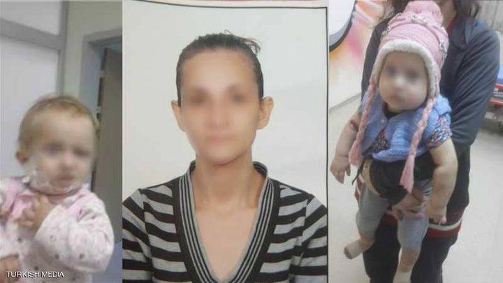 الشرطة التركية تعتقل امرأة تفننت في تعذيب طفلتها الرضيعة!