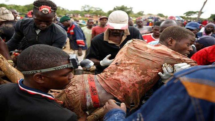 مصرع العشرات بطوفان منجم في زيمبابوي