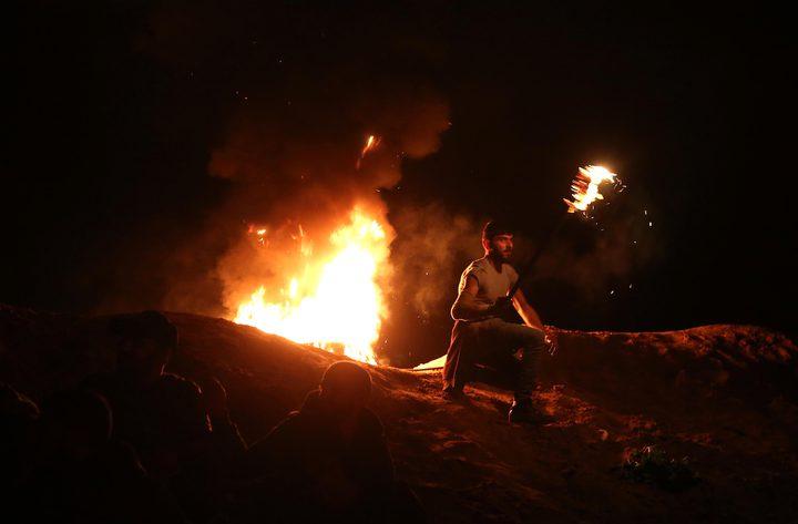 19 اصابة بينها خطيرة خلال فعاليات الإرباك الليلي شرق جباليا