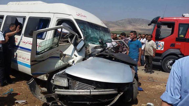 مصرع شخصين في 214 حادث سير الشهر الماضي