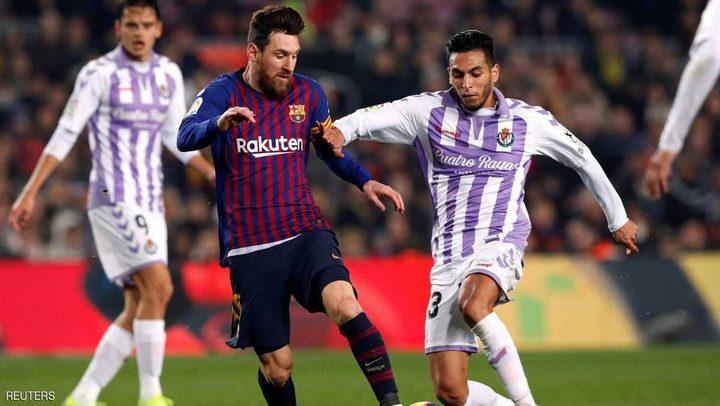 برشلونة يعاني أمام بلد الوليد قبل موقعته مع ليون