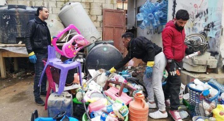 مبادرة فرز نفايات في مخيّم شاتيلا للاجئين