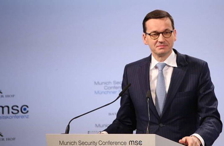 """رئيس وزراء بولندا يلغي زيارته إلى """"إسرائيل"""""""