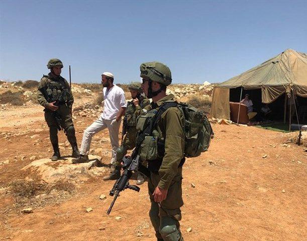 الاحتلال يخطر بإزالة خيمة سياحية شمال نابلس