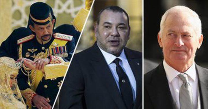 أغنى5ملوك فى العالم..ملك تايلاند فى الصدارة بـ30 بليون دولار
