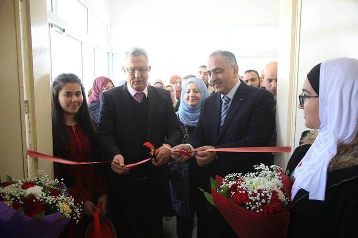 افتتاح معرض فلسطين للعلوم والتكنولوجيا في مدرسة الفاضلية