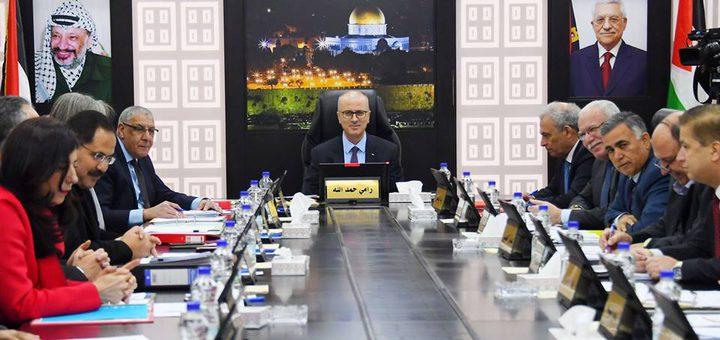 الحكومة تدين استهداف الاحتلال المسجد الاقصى المبارك