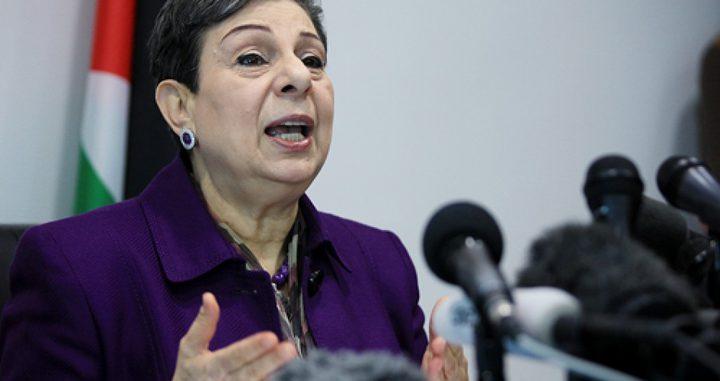 عشراوي: إسرائيل تجر المنطقة إلى حرب دينية بشكل ممنهج ومدروس