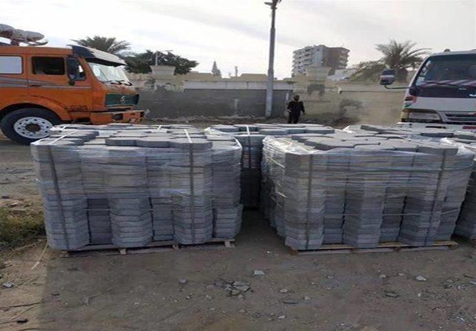 نابلس:الاحتلال يستولي على 4 آلاف متر بلاط بقيمة 100 ألف شيقل
