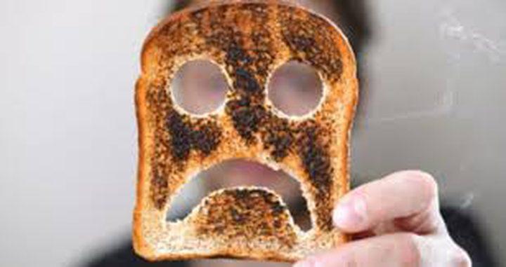 """دراسة: الخبز """"المحروق"""" أكثر سمية من انبعاثات الشاحنات والسيارات"""