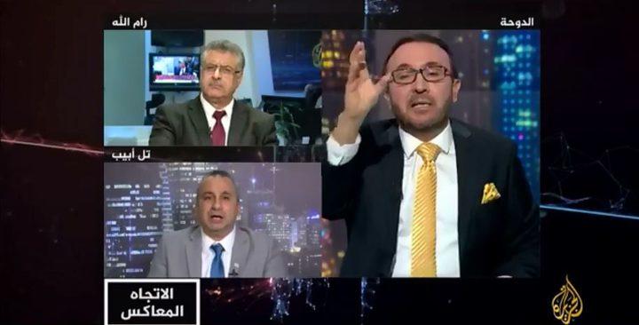 الأقطش يهاجم منظمة التحرير والكاتب الإسرائيلي كوهين يشيد به