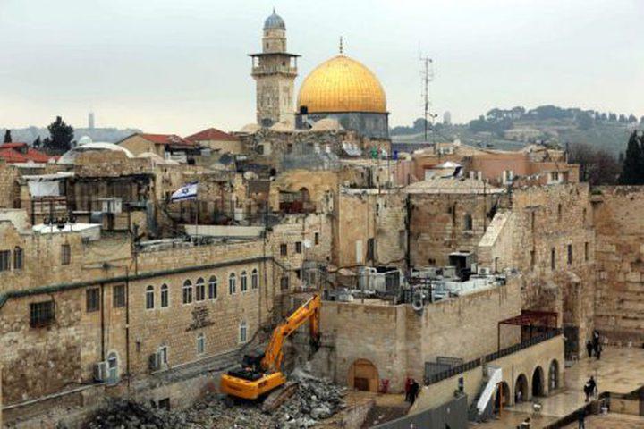 الخارجية: وحدات إستيطانية جديدة استكمالا لتهويد القدس