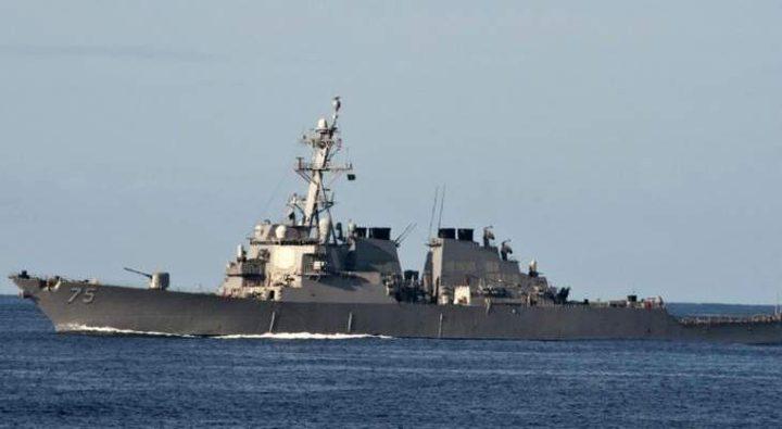 مركز الدفاع الروسي: السفن الحربية تتابع تحركات مدمرة أميركية