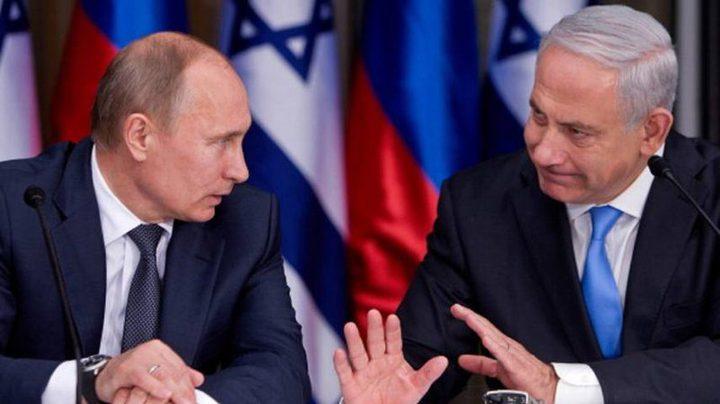 """تأجيل اجتماع """"بوتين"""" مع """"نتنياهو"""" لعدة أيام"""