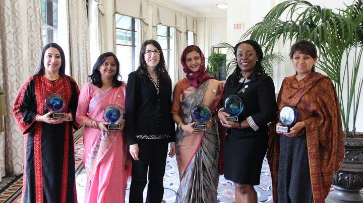 الدكتورة أميرة شاهين من جامعة النجاح أول فلسطينية تفوز بجائزة مؤسسة OWSD