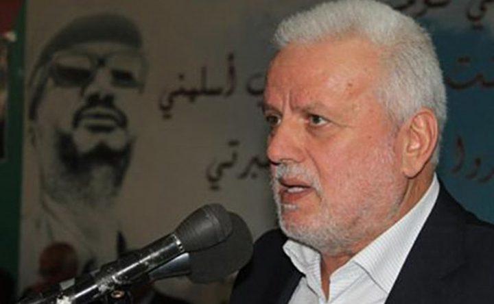 أبو العردات: تدحرج التطورات في المنطقة يحتم على الفلسطينيين التوحد
