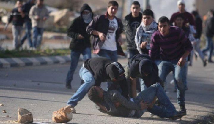 إصابات بالاختناق خلال مواجهات مع الاحتلال في مخيم الفوار