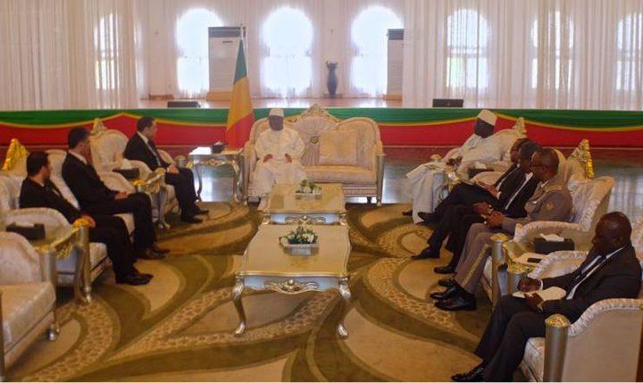 السفير شبلي يطلع وزيرة خارجية مالي على تطورات الأوضاع بفلسطين