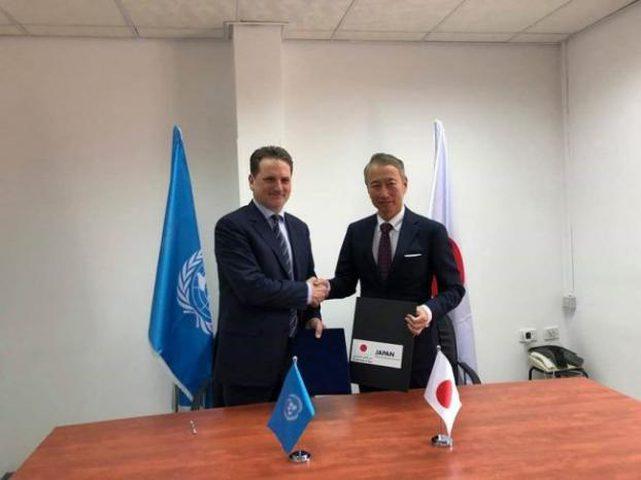 اليابان تتبرع بـ 23 مليون دولار للأونروا