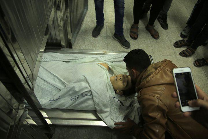 استشهاد طفل برصاص الاحتلال الاسرائيلي شرق غزة