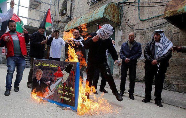 مواجهات بين المواطنين وقوات الاحتلال بالخليل