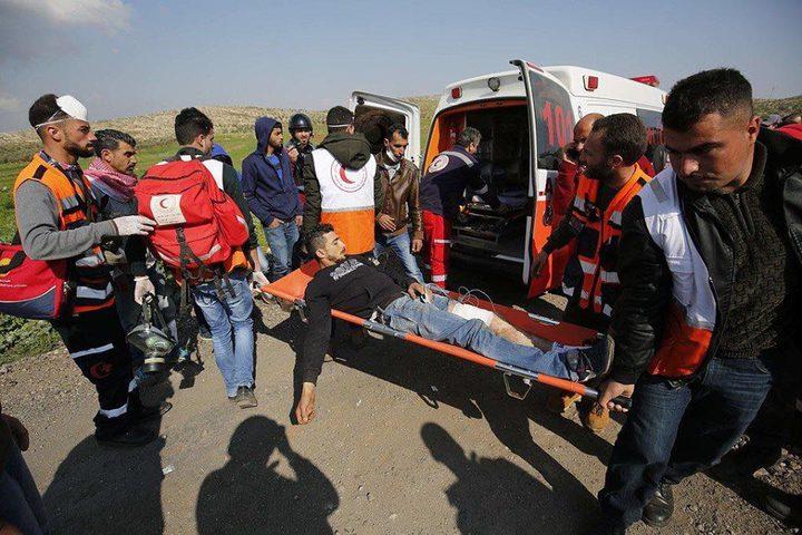إصابات بالرصاص الحي في قرية المغير شرق رام الله