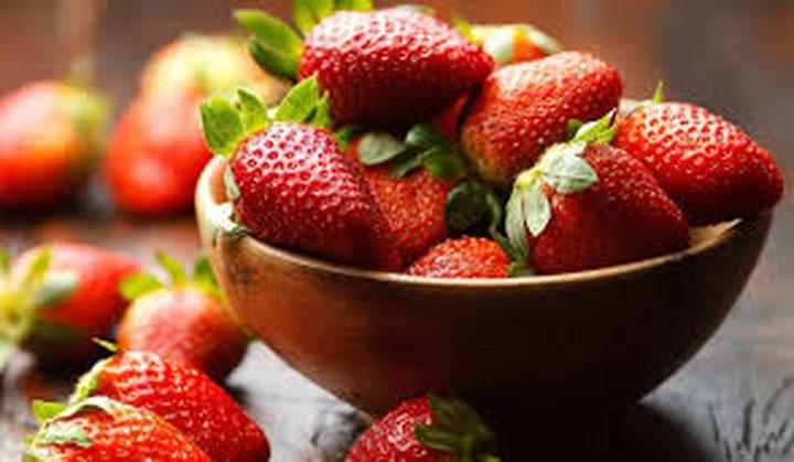 فوائد الفراولة تقوية المناعة وتقليل فرص ظهور التجاعيد