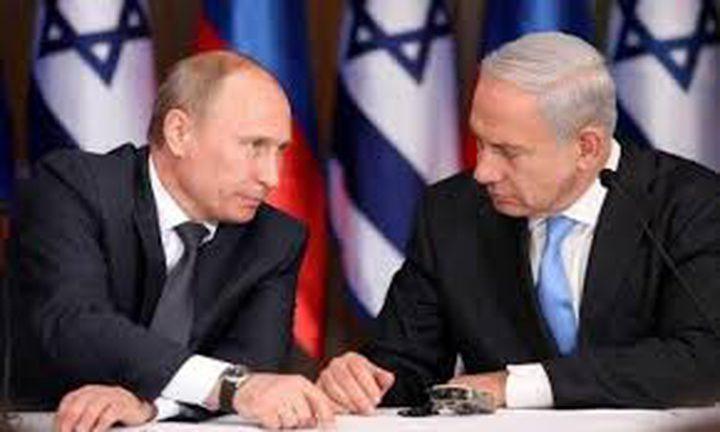 نتنياهو يلتقي بوتين الاربعاء في موسكو