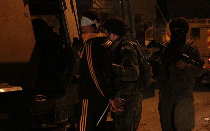 حملة اعتقالات تطال عشرات المواطنين بالقدس المحتلة