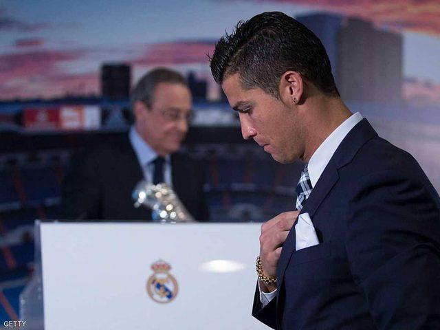 """""""تصريحات رئاسية"""" تكشف سبب رحيل رونالدو وطلب بيريز المهين"""