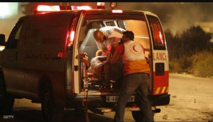 اصابة مواطن برصاص الاحتلال في مخيم العروب