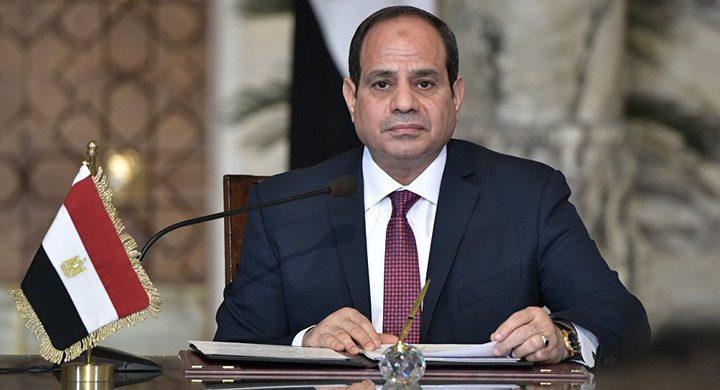 السيسي: القضية الفلسطينية تمثل قضية العرب المركزية الأولى