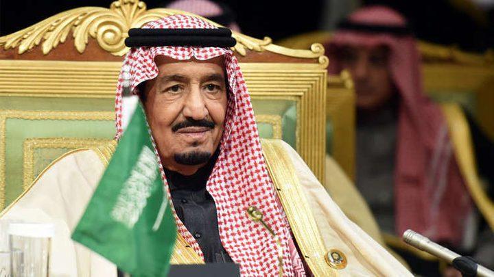 خادم الحرمين يؤكد دعم المملكة لإقامة دولة فلسطينية