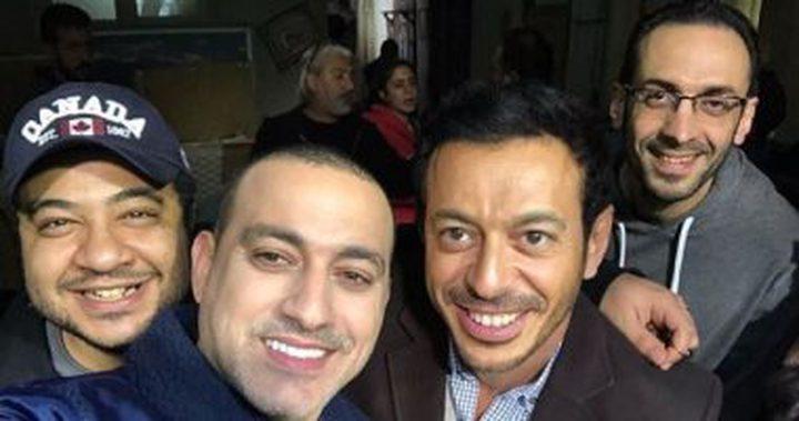 """صور.. حريم عائلة مصطفى شعبان فى """"أبو جبل"""""""