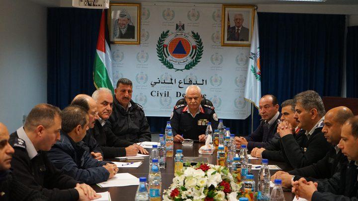 الدفاع المدني يناقش خطة العمل للعام 2019