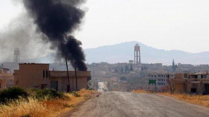 مصرع 20 مدنياً بانفجار لغم من مخلفات «داعش» وسط سوريا
